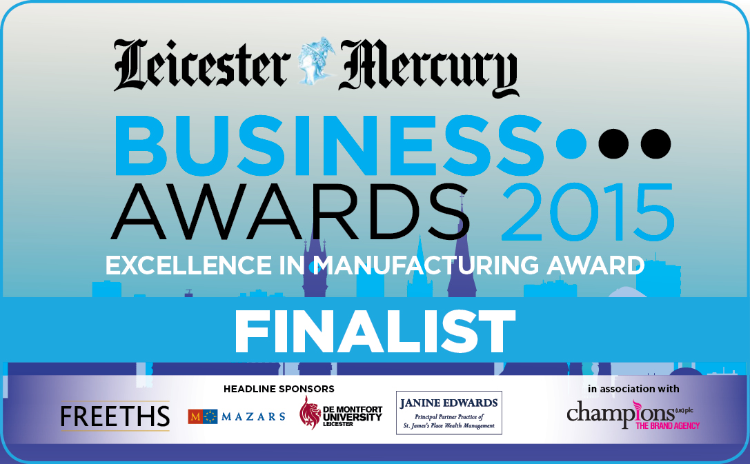 LMBA Finalist Badge Excellence in Manufacturing Award