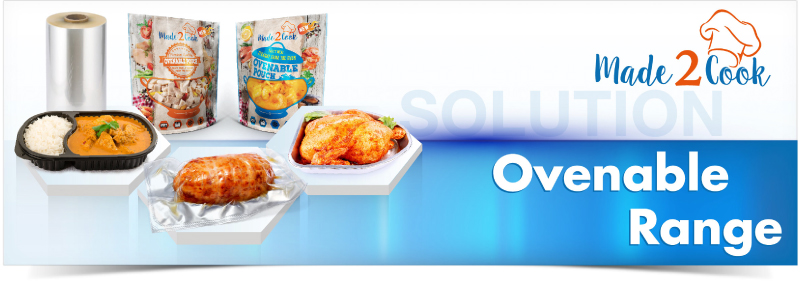 Ovenable Range. Clifton Packaging Group LTD. flexible packaging