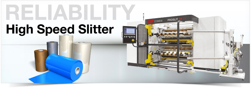 High Speed Slitter. Clifton Packaging Group LTD. flexible packaging