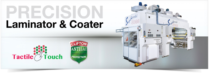 Laminator & Coater. Clifton Packaging Group LTD. flexible packaging