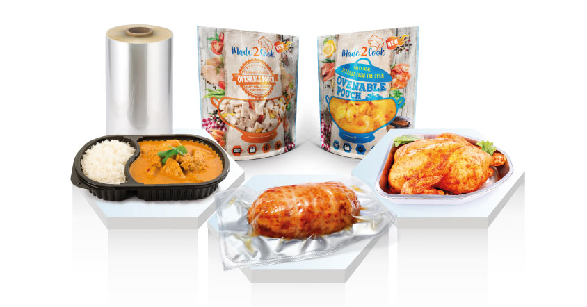 Ovenable Film, Clifton Packaging Group LTD. flexible packaging