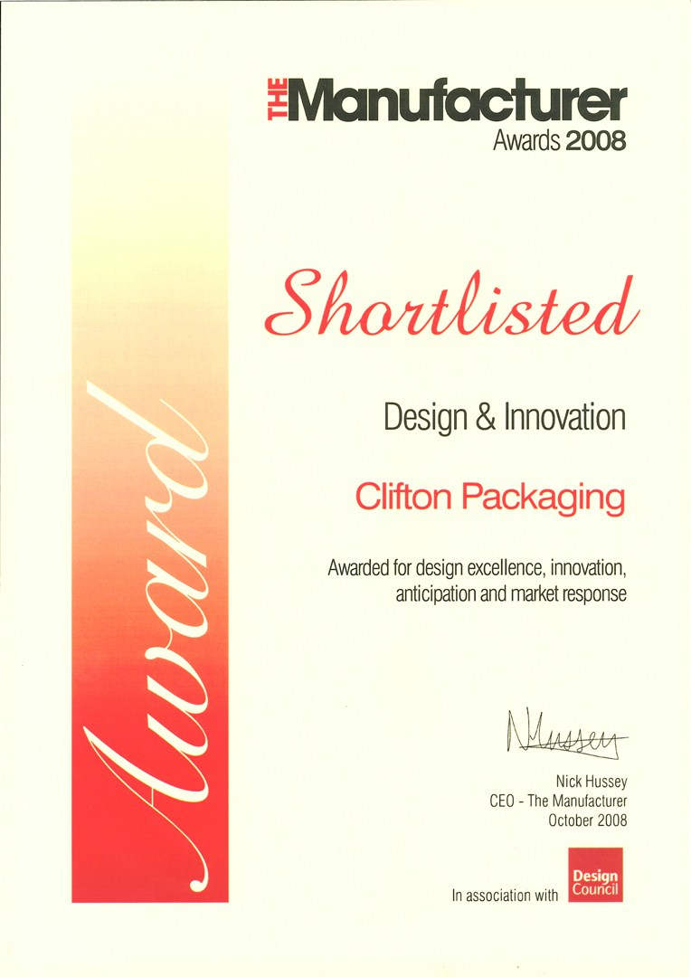 The Manufacture Awards 2008