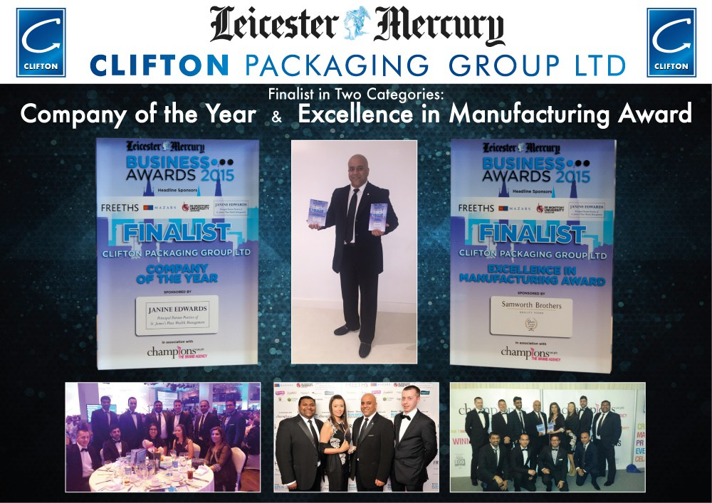 Leicester Mercury Business Awards 2015