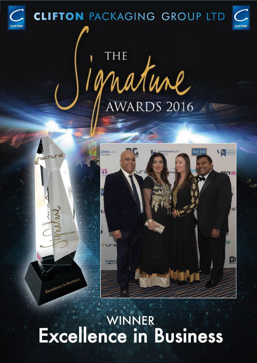 The Signature Awards 2016