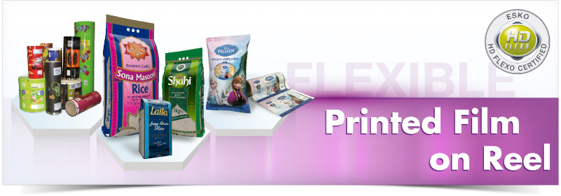 Printed Film on Reel. Clifton Packaging Group LTD. Clifton Packaging Group LTD, flexible packaging