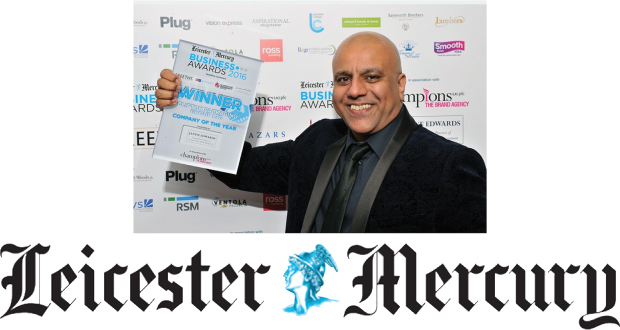 Company Of The Year 2016, Leicester Mercury, Clifton Packaging Group LTD. flexible packaging