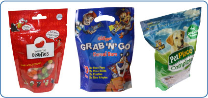 Clifton Packaging Group, established 1981, Stand Up Pouches