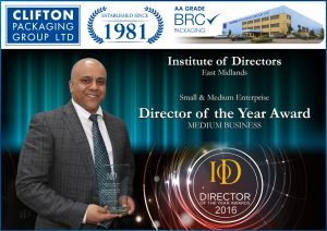 2016 Director of the Year Award