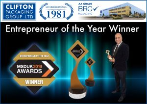 MSDUK 2016 Entrepreneur Winner