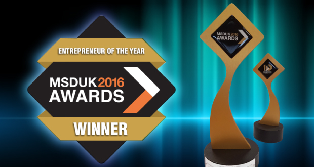 MSDUK 2016 Awards, Shahid Skeikh OBE, Clifton Packaging Group LTD. flexible packaging