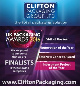 UK Packaging Awards 2016