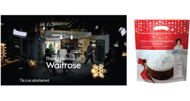 2011 Stills Taken from Waitrose Delia's Classic Christmas Cake Ad, Clifton Packaging Group LTD. flexible packaging
