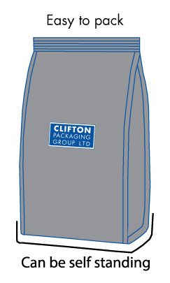 Clifton Packaging Group, Side Gusset Pouches