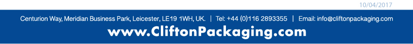 UK Flexible Packaging, Clifton Packaging Group LTD.