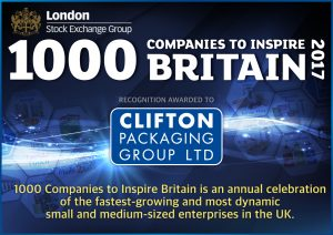 1000 COMPANIES TO INSPIRE BRITAIN London Exchange 2017.