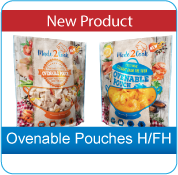 Ovenable Pouches H/FH, Clifton Packaging Group, established 1981