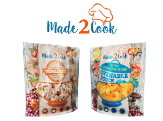 Ovenable Pouches - Made2Cook, Clifton Packaging Group, established 1981