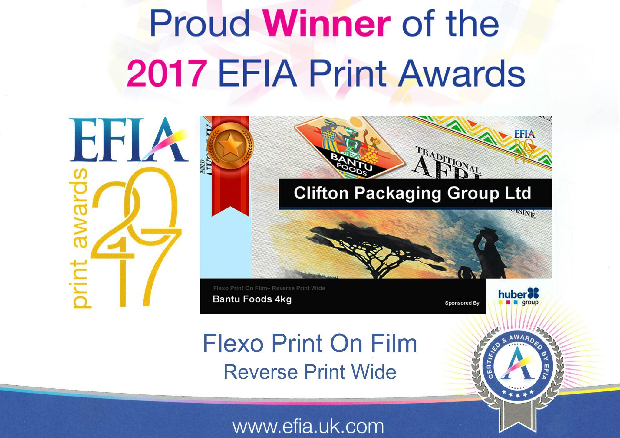 EFIA 2017 Award
