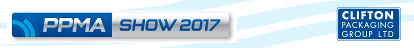 PPMA 2017, Clifton Packaging Group LTD.