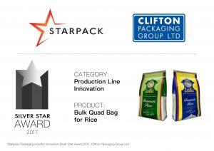 Starpack Award, SILVER STAR AWARD 2017