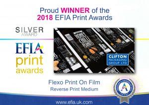 EFIA Print Awards 2018 - Silver Award