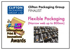 2018 Flexo Tech International Print & Innovation Awards Flexible Packaging Narrow Web 800mm