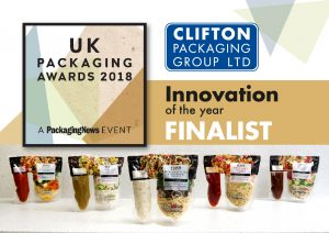 UK Packaging Awards 2018 Innovation Finalist