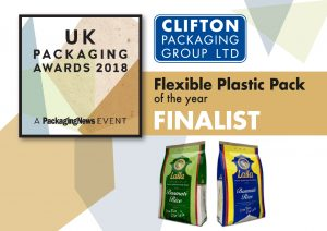 UK Packaging Awards 2018 Flexible Plastic Pack Finalist
