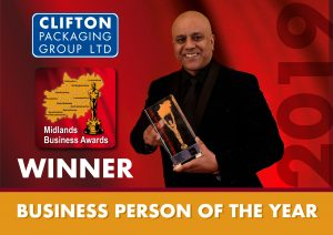 MBA Winner 2019 Business Person of the year