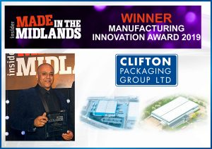Made in the Midlands, Manufacturing Innovation WINNER 2019
